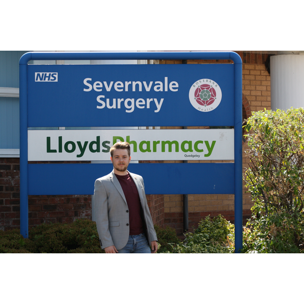 Liam Harries at Severnside Surgery