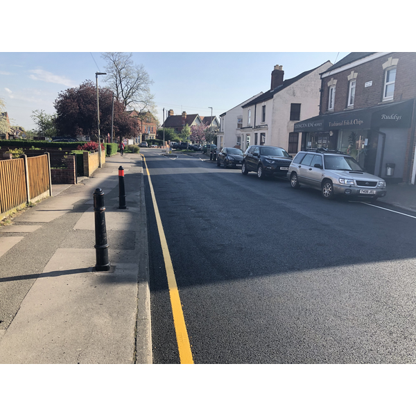 Old Cheltenham Road resurfacing