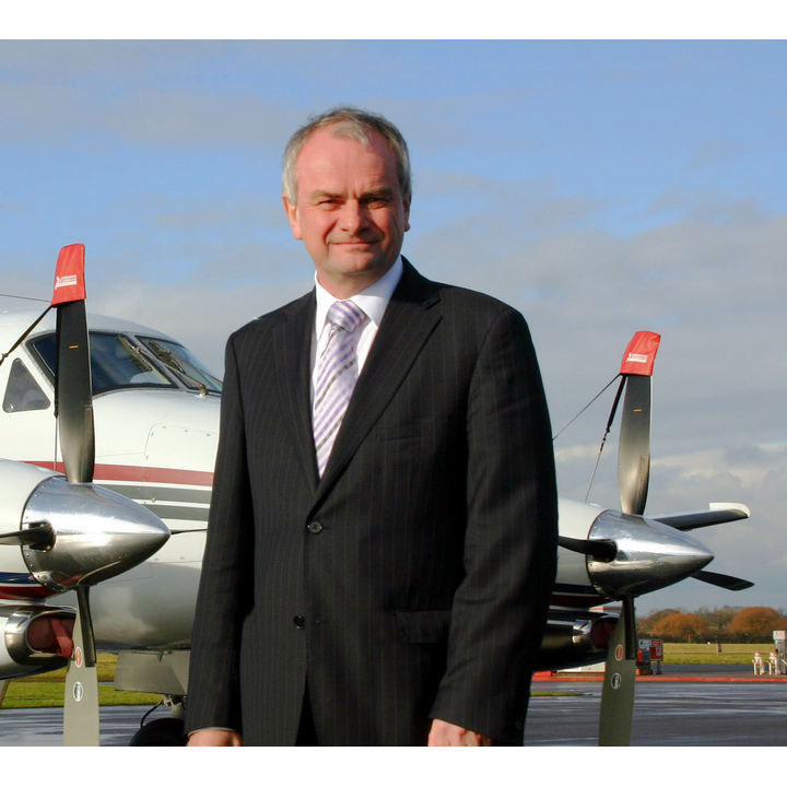 Jeremy Hilton at Gloucestershire Airport