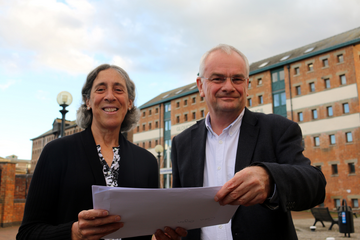 Councillors Joanne Brown and Jeremy Hilton